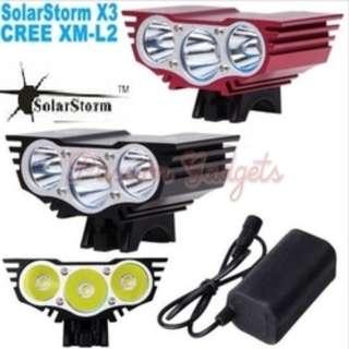 Solar Storm X3 Lights/SolarStorm/Light/Escooter/Escoot
