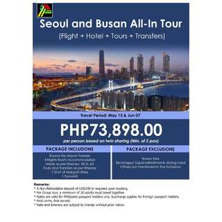 Seoul and Busan All-In Tour