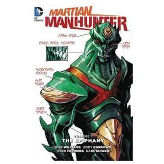 (Brand New) Martian Manhunter The Epiphany Vol 1    By: Rob Williams - Paperback