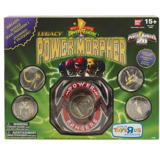 MMPR Mighty Morphine Power Rangers Legacy Morpher