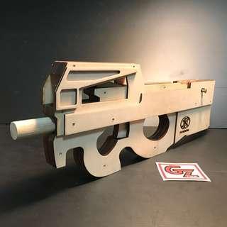 P90 Rubber Band Toy Gun