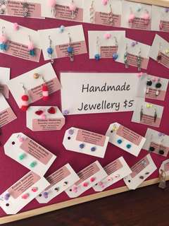 Assorted handmade unique earrings $5 a pair