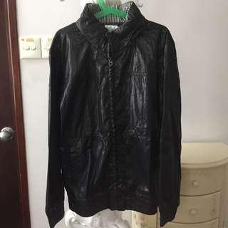 Kingkow Boys Black Windbreaker Jacket