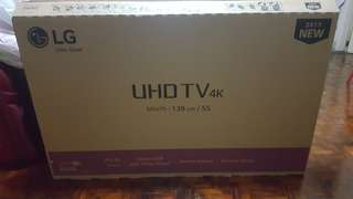 LG 55inch 4K UHD HDR Smart TV