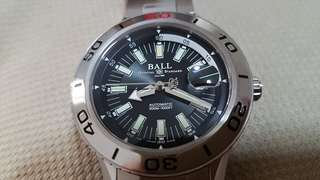 Ball NECC DM3090A steel Bezel fullset 42mm