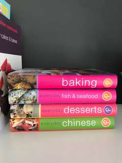 Everyday cook book for baking, desserts, seafood and chinese