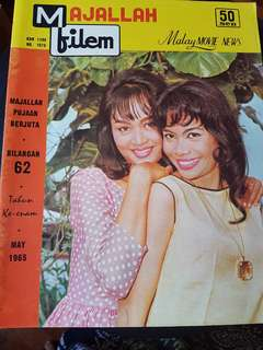 May 1965 Majallah Filem Magazine