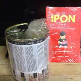 My Ipon Diary plus coin bank