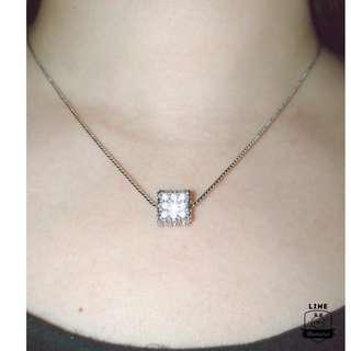 正貨放售 施華洛 立方體時尚水晶鏈墜連項鍊 Swarovski Charmed Pendant with necklace