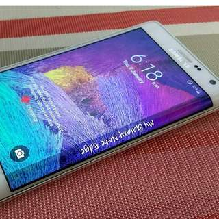 SAMSUNG NOTE EDGE 32GB with amoled burn unti