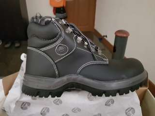 Bata Industrials Safety Boots - Leather and Steel Capped
