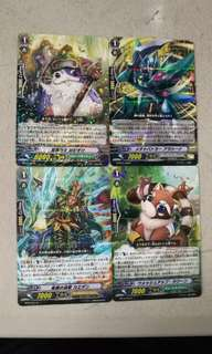 vanguard cards japan collecton