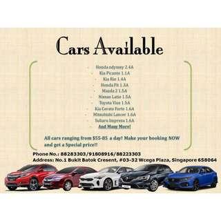😎 Cheap & Affordable Car Rental 😎 💌 88223303 / 91808916 / 88283303 ☎️