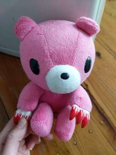 Small Pink gloomy bear plush toy