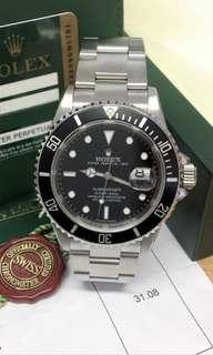勞力士ROLEX 16610LN Submariner Date
