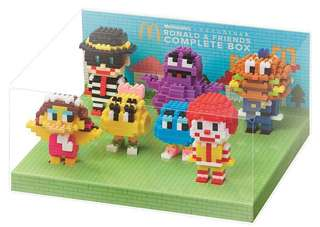 McDonald's Nanoblock Ronald and Friends