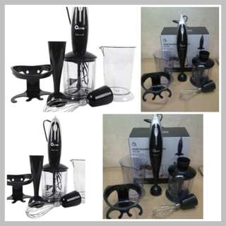Blender Tangan Terbaik Oxone Hand Blender & Chopper OX-292 Harga Murah