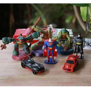 [Mainan Jadul] Action Figure - Borongan/Bundle