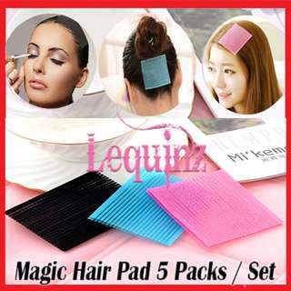 Magic Hair Pad Velcro Stick On Fringe Hair Accessories