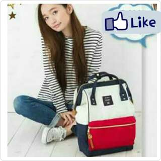✳ Tri Authentic Anello Canvas Backpack
