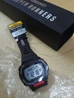Seiko running sport watch 計時電子錶 new 全新 gshock casio nike adidias new balance jordan