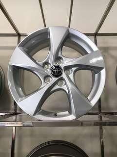 """Original Toyota CH-R 17"""" Rims"""