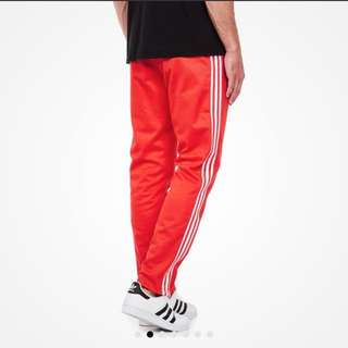 Adidas Block Track Pants Tapered
