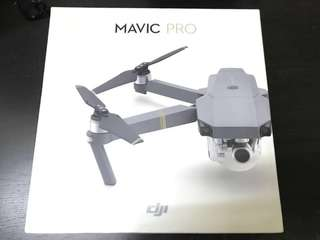 DJI Mavic Pro with 2 batteries