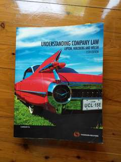 Understanding company law - Lipton, herzberg and welsh - 15th edition