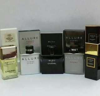 CHANEL PERFUMES FOR MEN