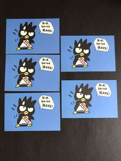Sanrio Bad Badtz Maru (XO) Post Card