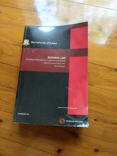University of Sydney - Business law reading materials for legal environment and commercial laws - 2nd ed