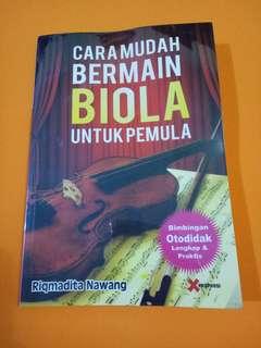 #7 Buku Panduan bermain Biola