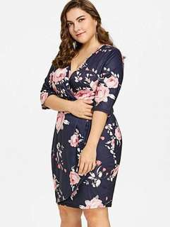 APR 18 PLUSSIZE DRESS (DAJ) #IV