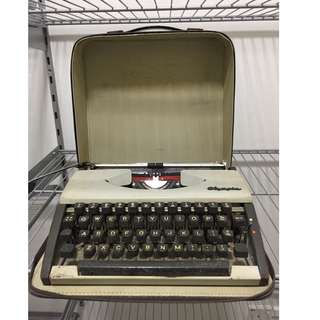 Rare Antique Vintage Typewriter