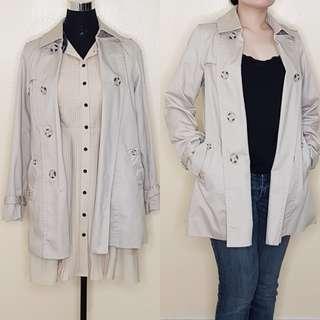 Pre-loved Women's Coat in Cream