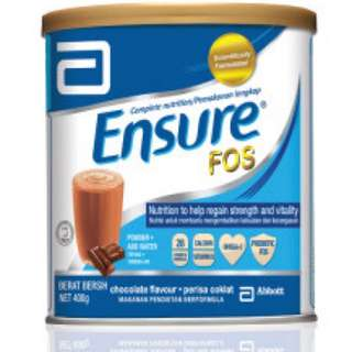 Ensure FOS Chocolate Flavor