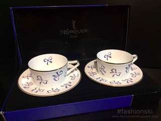 YSL cup and saucer