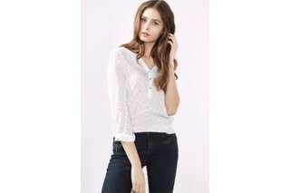 New! Esprit Printed V neck shirt Size S (EU 36) 👩🏼👱🏼♀️