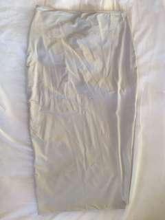 Kook light grey skirt