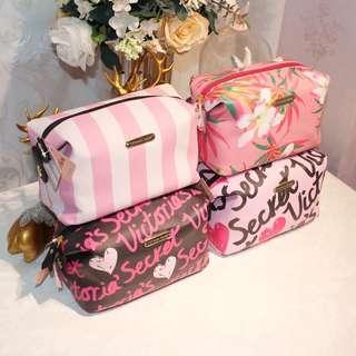 Victoria secret rectangular makeup pouch