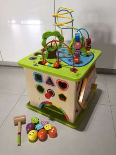 Hape wooden learning toy