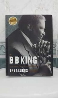 B B King Treasures Biography with CD