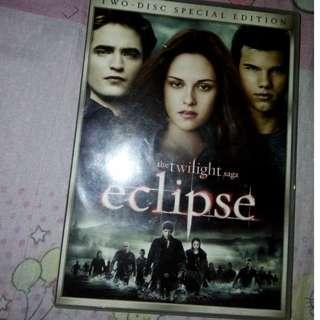 Twilight Saga Eclipse DVD/CD , Original po!