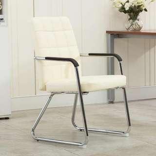White Office Chair OC-03B