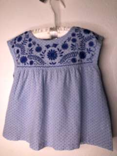 GingerSnaps Size6 Blue Top