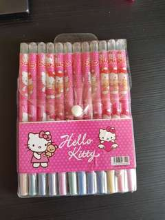 Hello Kitty Twistable Crayons