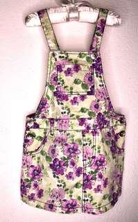 Guess Size6 Floral skirt Jumpsuit
