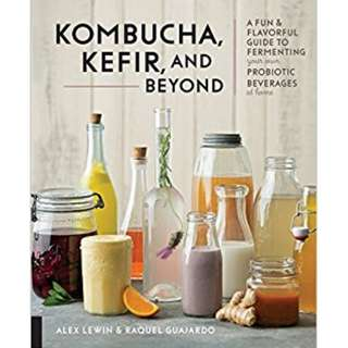 Kombucha, Kefir, and Beyond A Fun and Flavorful Guide to Fermenting Your Own Probiotic Beverages at Home (ebook)