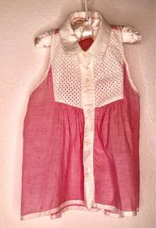 Girgersnaps Size8 Girl's Red&White Top